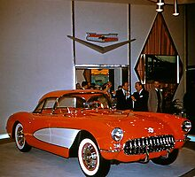 Chevrolet Corvette at General Motors Motorama 1956 by haymelter