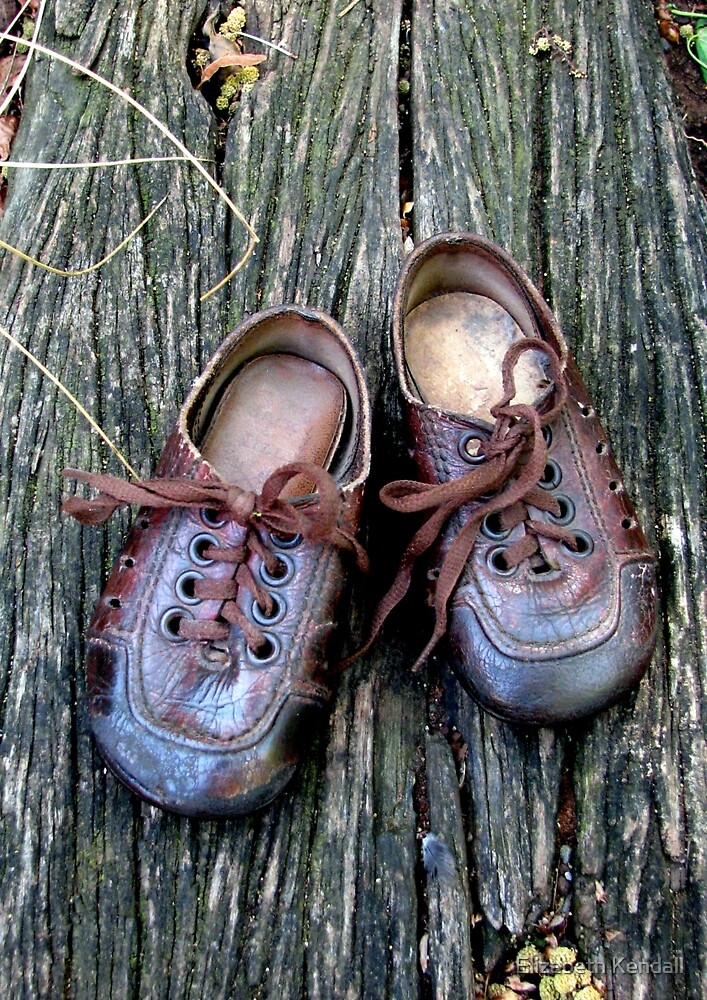Old shoes can talk by Elizabeth Kendall
