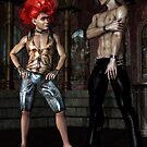 Iain and Troll by DarwinsMishap