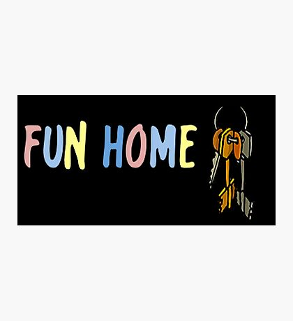 Fun Home- Ring of Keys Photographic Print
