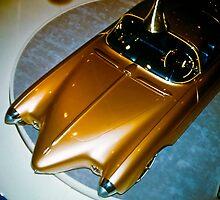 Oldsmobile Golden Rocket at General Motors Motorama 1956 by haymelter