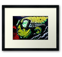 Looking Over There Framed Print