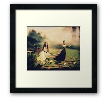 Lady of Shallot Framed Print