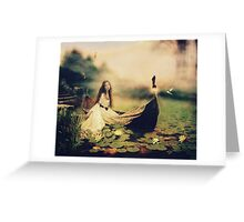 Lady of Shallot Greeting Card