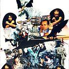 Plus C'est Change - Late 80's Political Collage by Nick Hazel