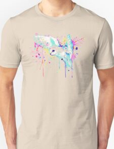 White Barn Owl Watercolor T-Shirt