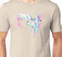 White Barn Owl Watercolor Unisex T-Shirt