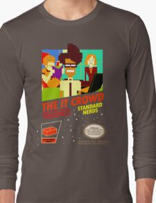 The IT Crowd NES game Long Sleeve T-Shirt