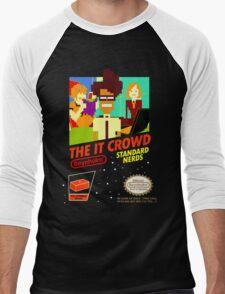 The IT Crowd NES game Men's Baseball ¾ T-Shirt