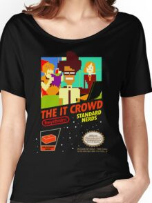 The IT Crowd NES game Women's Relaxed Fit T-Shirt