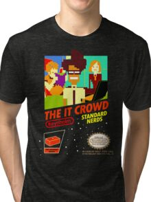The IT Crowd NES game Tri-blend T-Shirt