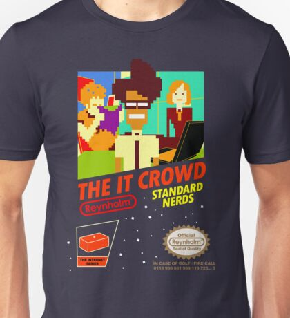 The IT Crowd NES game Unisex T-Shirt