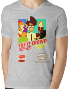 The IT Crowd NES game Mens V-Neck T-Shirt