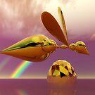 Three Bees by Vanessa Barklay