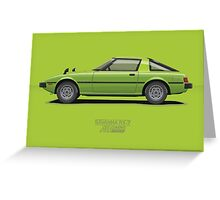 Savanna RX-7 Greeting Card