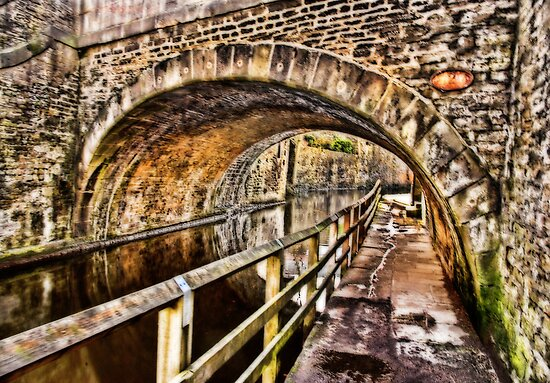 Bridge No.2 at Skipton by Trevor Kersley
