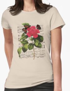 Flower, Butterflies & Song T-Shirt