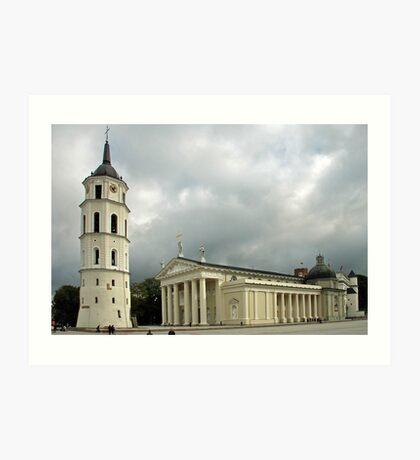 St.Stanislav basilica - Vilnius - Lithuania Art Print