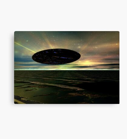 Some Sci-Fi Canvas Print