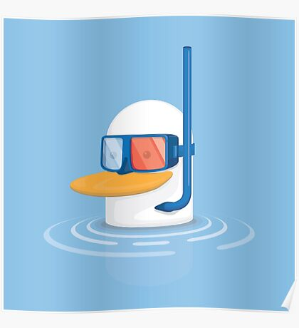 Duckie Duck  Poster