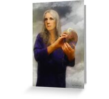 Gaia as Fata Morgana Greeting Card