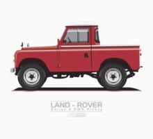 Land Rover Series 3 SWB Pickup Kids Tee