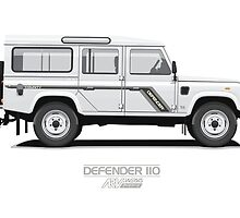 Defender 110 County by ARVwerks