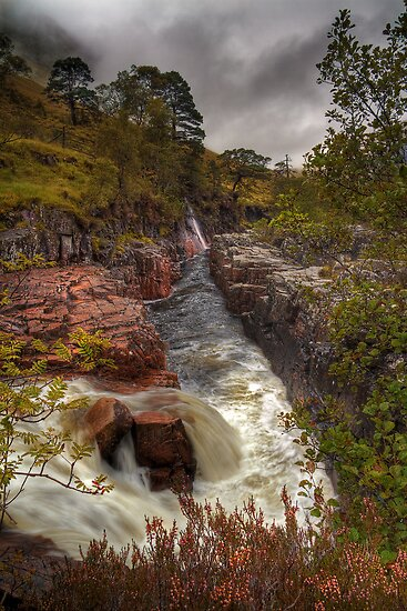 Etive Autumn by Karl Williams