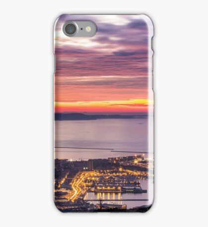 evening in the bay of Trieste iPhone Case/Skin
