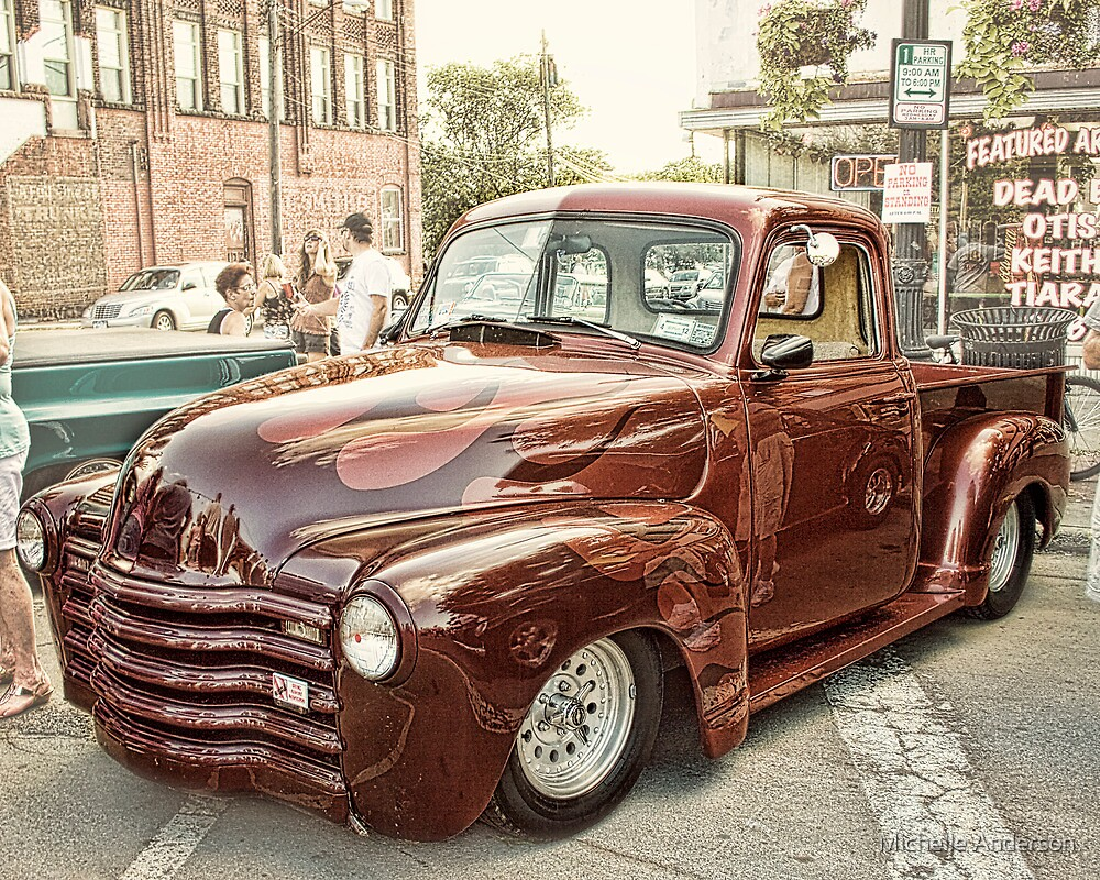 Car Show classic by Michelle Anderson