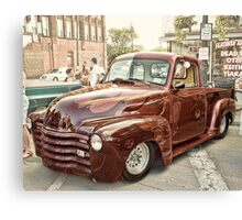 Car Show classic Canvas Print
