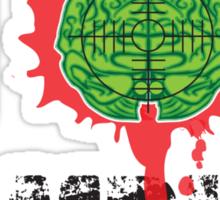 I (Headshot) Zombies Sticker