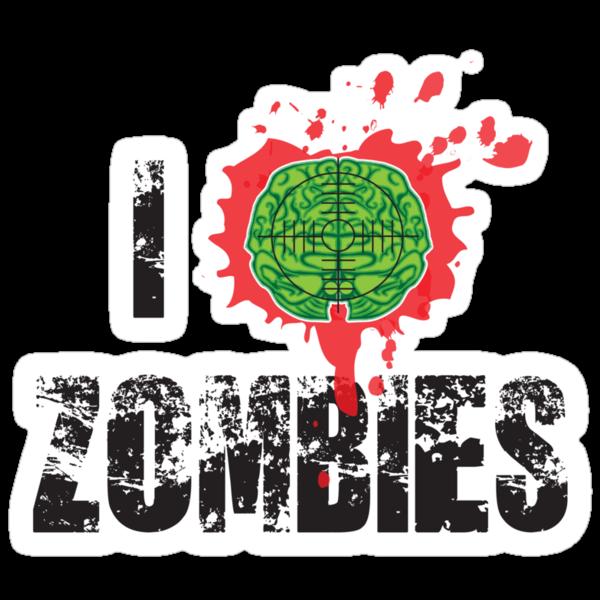 I (Headshot) Zombies by buzatron
