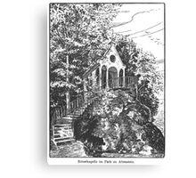 Georg Lilie Altenstein Kapelle Canvas Print
