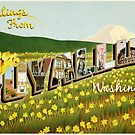 Puyallup Vintage Postcard by JohnOdz