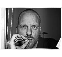 "Self Portrait ""smoking"" Poster"