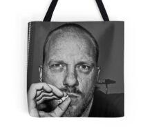 "Self Portrait ""smoking"" Tote Bag"