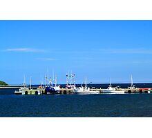 Harbour at Cheticamp, Nova Scotia Photographic Print