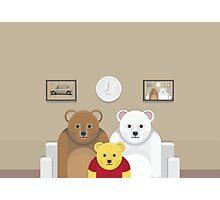 Pooh's Family ? Photographic Print
