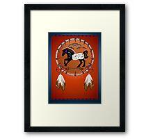 Horse n Arrows Framed Print
