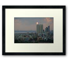 Navi Mumbai Cityscape Framed Print