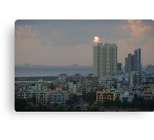 Navi Mumbai Cityscape Canvas Print