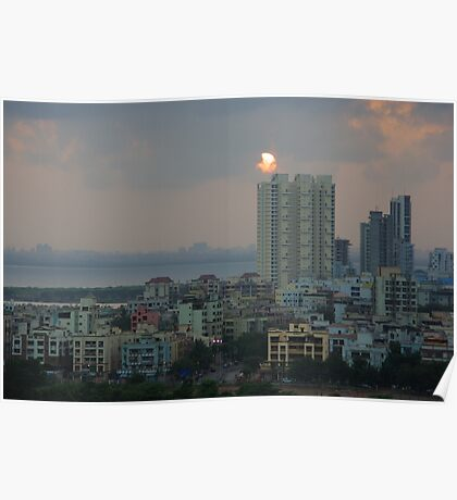 Navi Mumbai Cityscape Poster