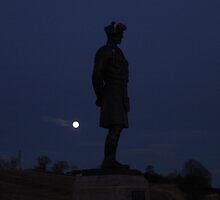 Lone Scottish Soldier by weecritter