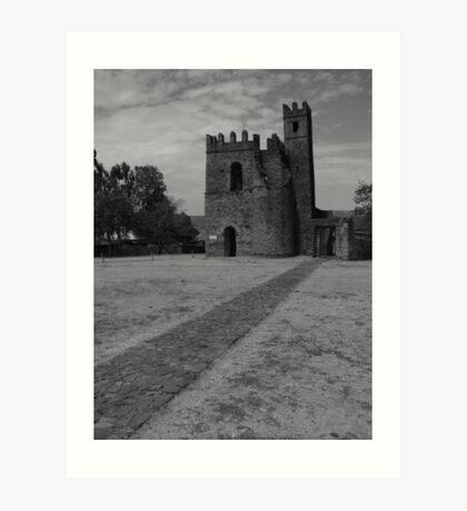 Archive of Fasilidas Art Print