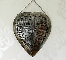 Stainless Steel Heart by weecritter