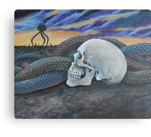 Conquest of the Planet of the Snakes Canvas Print