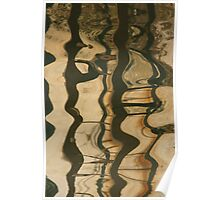 Abstract ripple Poster