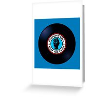 Northern Soul Vinyl Greeting Card