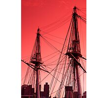 Old Ironsides Photographic Print